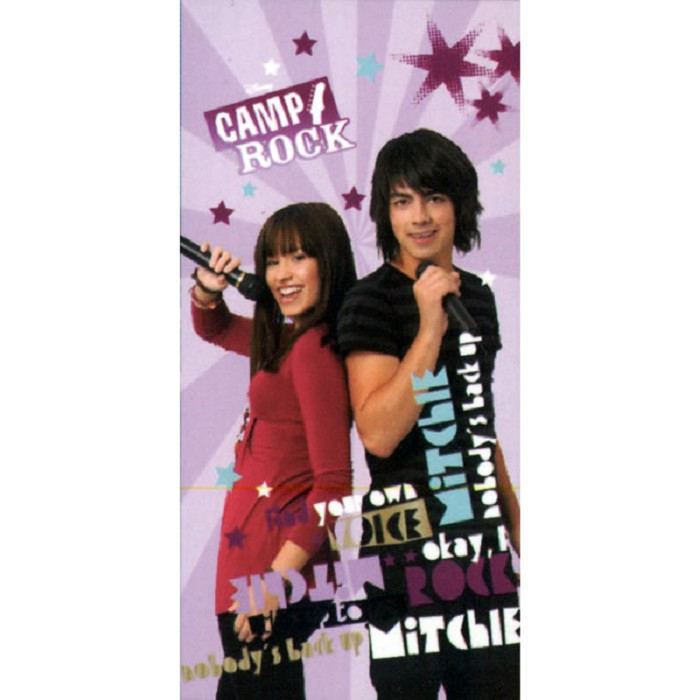Toalla Playa Camp Rock Basic