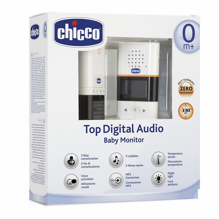 Vigilabebés Top Digital Audio Baby Monitor Chicco