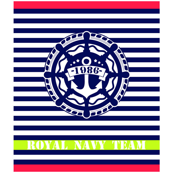 Toalla Gigante Royal Navy