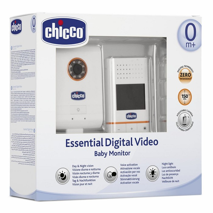 Vigilabebés Essential Digital Video Baby Monitor Chicco