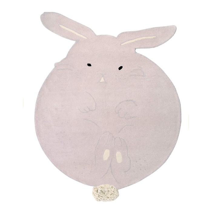 Alfombra Chubby the Bunny Lorena Canals