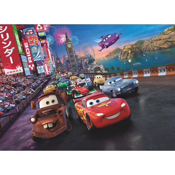 Mural Cars Race Disney