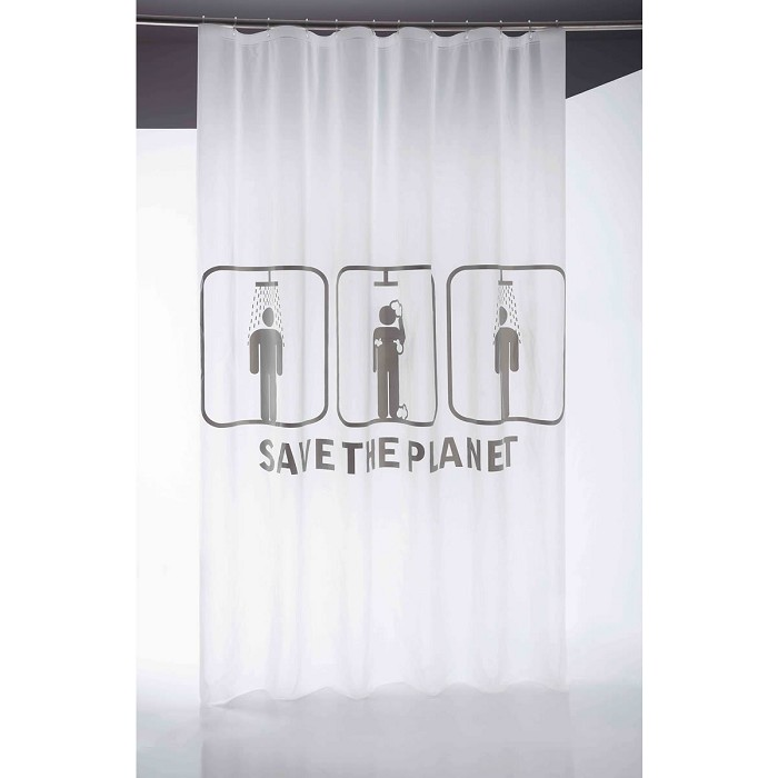 Cortina Baño Save the Planet Sorema
