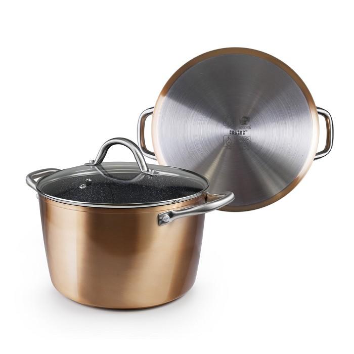 Cacerola con Tapa Natura Copper Ibili   Donurmy