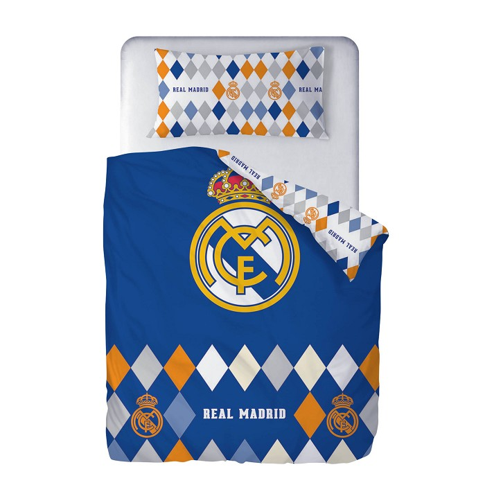 Funda Nórdica Rombos Real Madrid