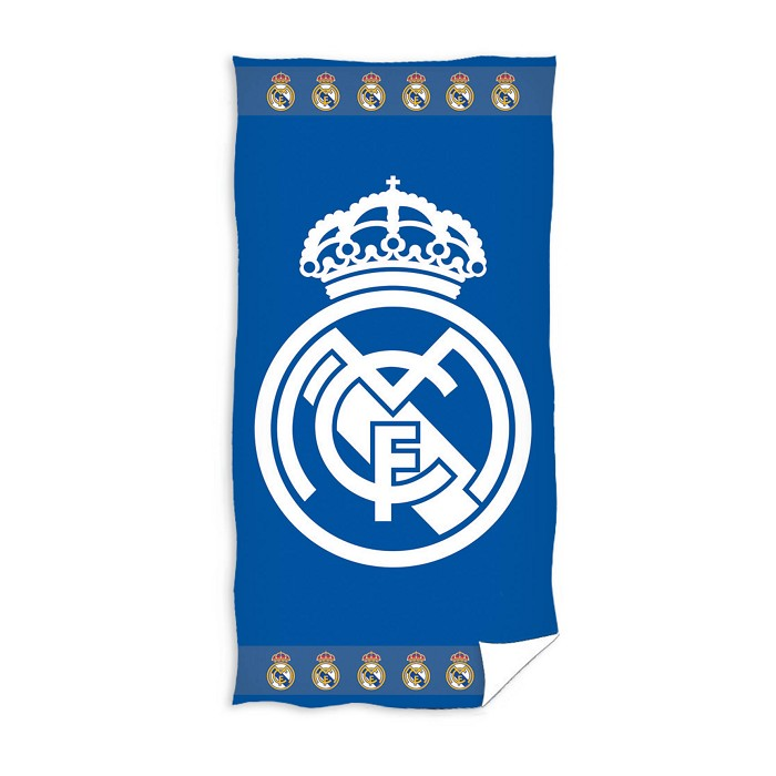 Toalla Playa Escudo Azul/Blanco Real Madrid