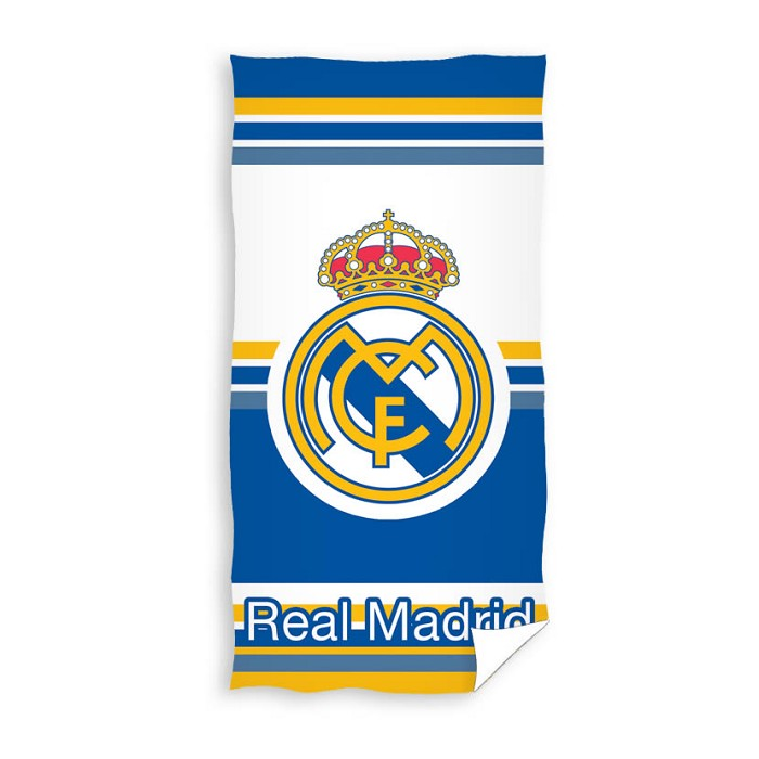 Toalla Playa Bicolor Escudo Real Madrid