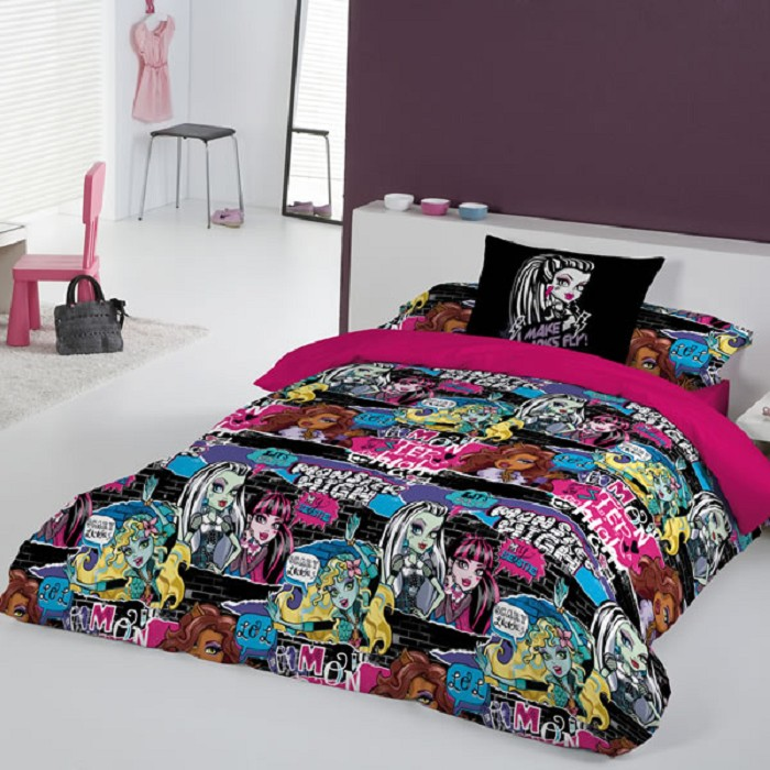 Funda nórdica Thriller Monster High
