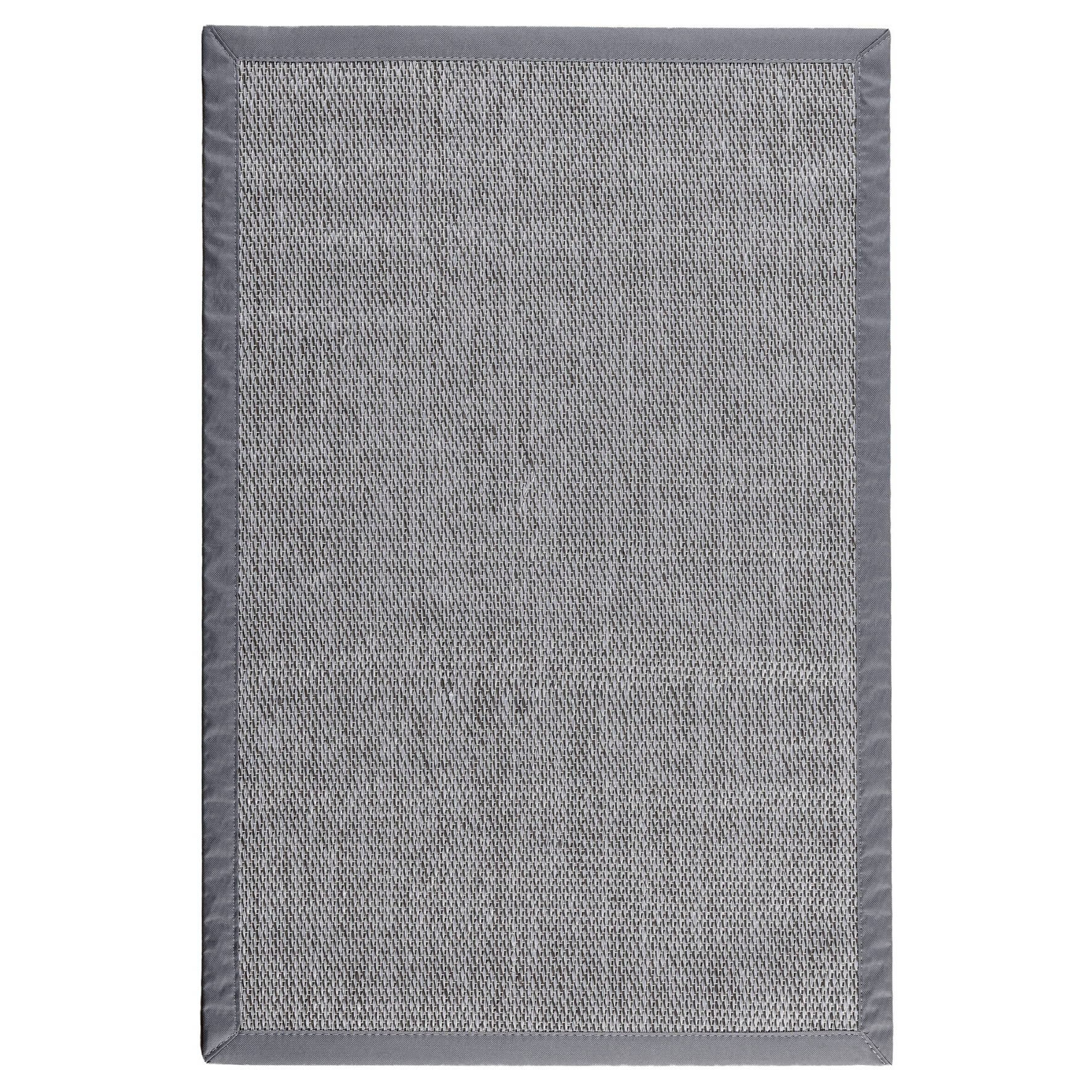 80x150 80/% PVC-20/% Poliester STOR PLANET Living Style Alfombra Gris