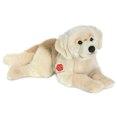 Peluche Golden Retriever Tumbado en Donurmy