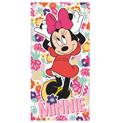 Toalla Playa Flores Minnie Mouse en Donurmy