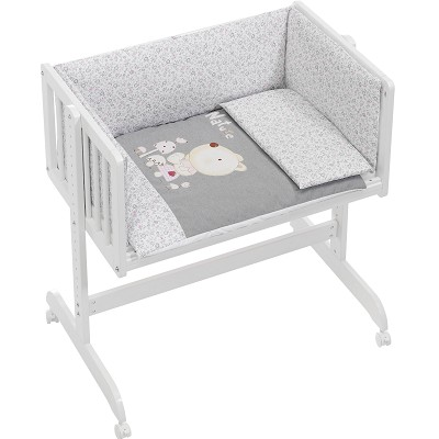 Minicuna Colecho Nature Rosa Interbaby en Donurmy