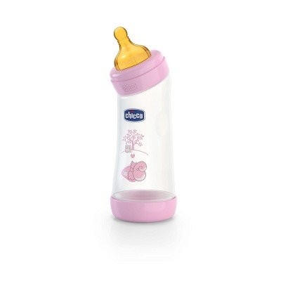 Biberón Angular Látex Wellbeing 250 ml. Chicco 0M+ en Donurmy