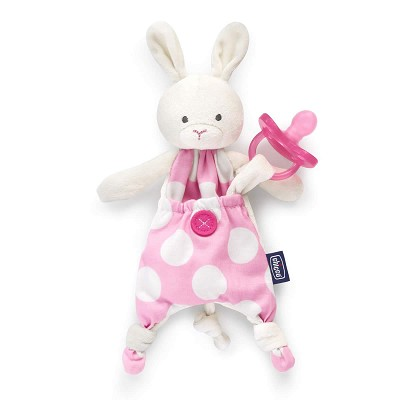 Portachupetes Pocket Friend Rosa Chicco 0M+ en Donurmy