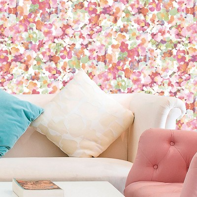Papel Romantic Flower Aura en Donurmy