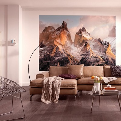 Mural Torres del Paine National Geographic en Donurmy