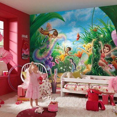 Mural Fairies Meadow Disney en Donurmy