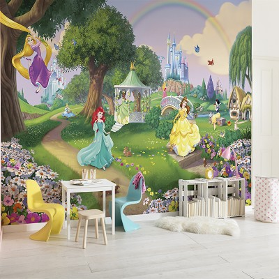 Mural Princess Rainbow Disney en Donurmy
