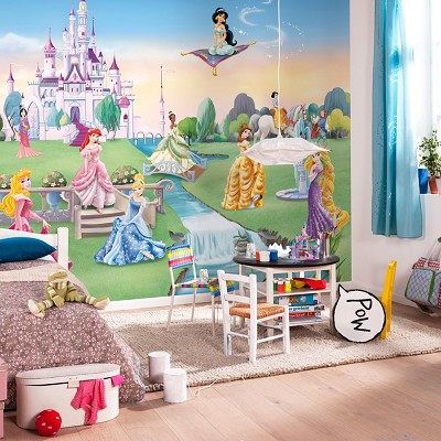 Mural Princess Castle Disney en Donurmy