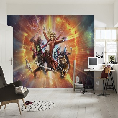 Mural Guardians of the Galaxy Marvel en Donurmy