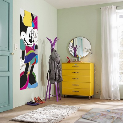 Mural Minnie Colorful Disney en Donurmy