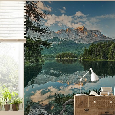 Mural Mirror Lake National Geographic en Donurmy
