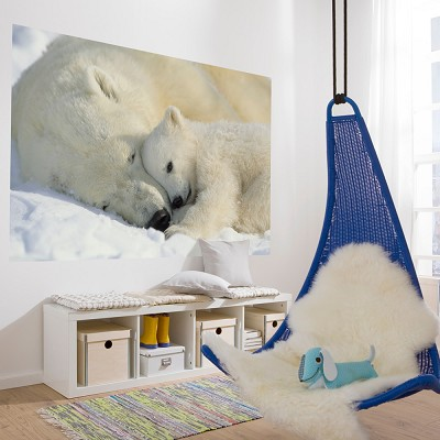 Mural Polar Bears National Geographic en Donurmy