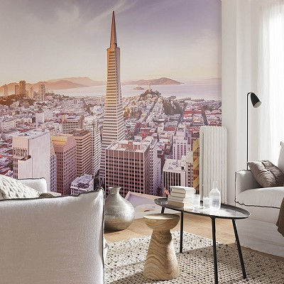 Mural San Francisco Morning National Geographic en Donurmy
