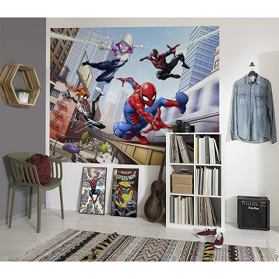 Mural Spider-Man Friendly Neighbours Marvel en Donurmy