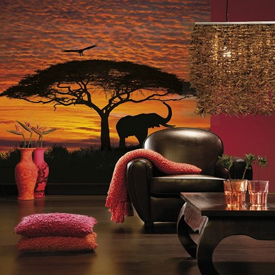 Mural decorativo African Sunset National Geographic en Donurmy