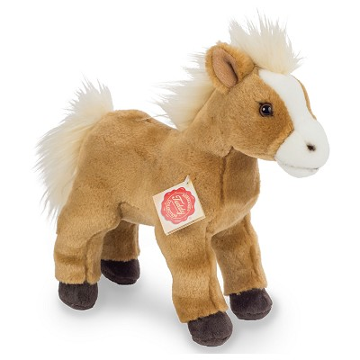 Peluche Caballo Marrón de Pie Herman Teddy en Donurmy
