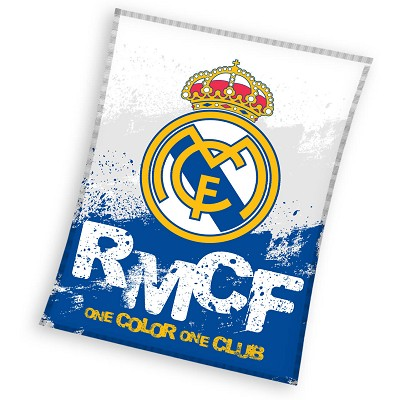 Manta Polar RMCF Real Madrid en Donurmy
