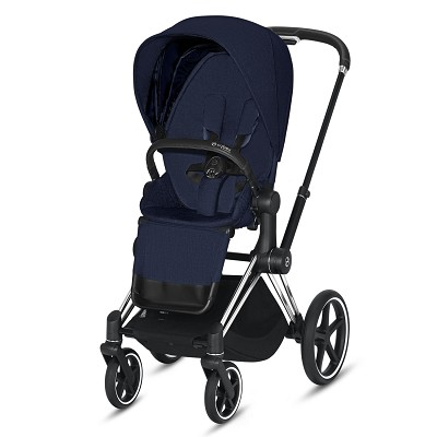 Silla de Paseo Priam Chromo Black Plus Cybex en Donurmy