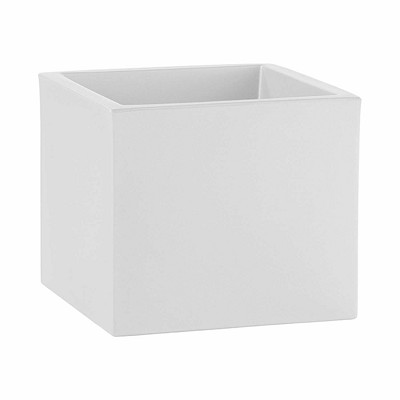 Maceta Cubo Blanca The One Plastiken en Donurmy