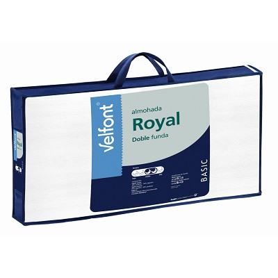 Almohada Royal Doble Funda Velfont en Donurmy