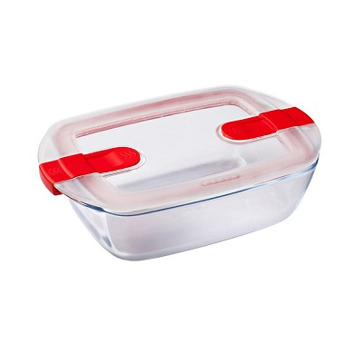 Tupper Hermético Rectangular Cook&Heat Pyrex en Donurmy